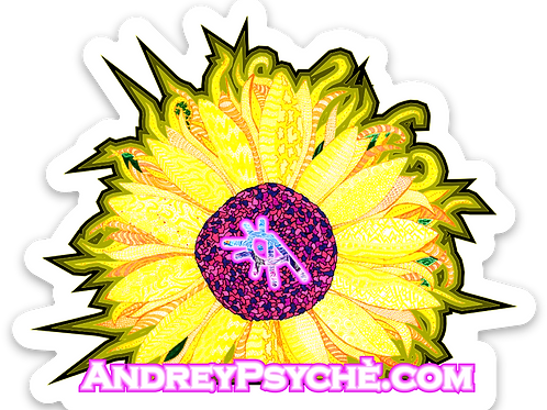 Almighty Psyche Sticker 3