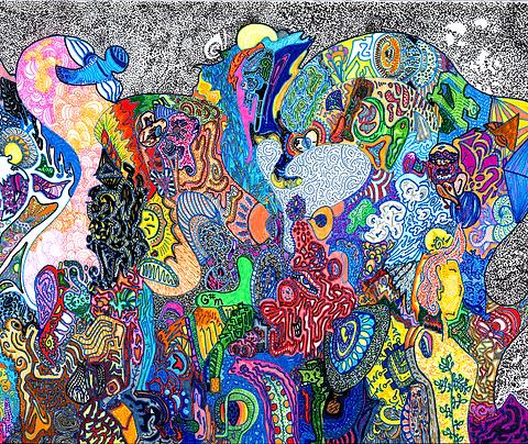 """Starlit Forest"" Fine Art Print"