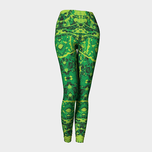 Royal Reptile Leggings