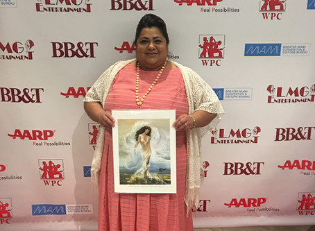 """Janie Flores Receives """"Quiet Storm Award"""" in Media from Women's Power Caucus"""