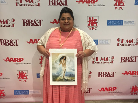"Janie Flores Receives ""Quiet Storm Award"" in Media from Women's Power Caucus"