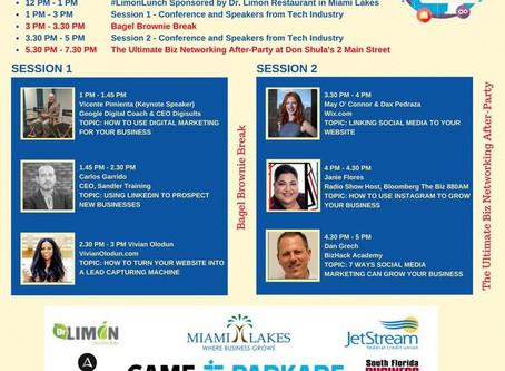 Buena Vida Media at Town of Miami Lakes Social Tech Summit 2018