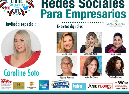 Conferencia: Redes Sociales Para Empresarios