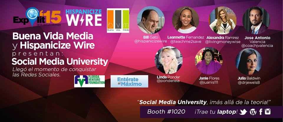 Social Media University at Expolit 2015