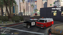 SAHP Bronco with EMS