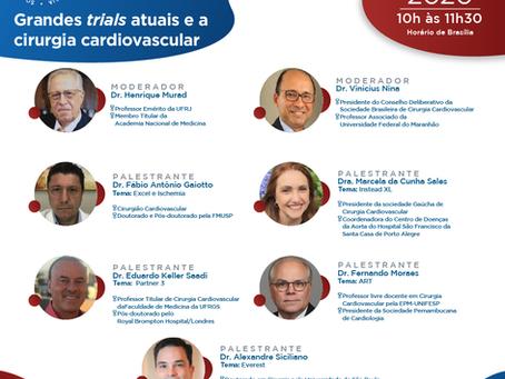 Grandes trials atuais e a cirurgia cardiovascular