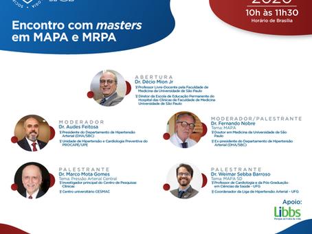Encontro com masters em MAPA e MRPA