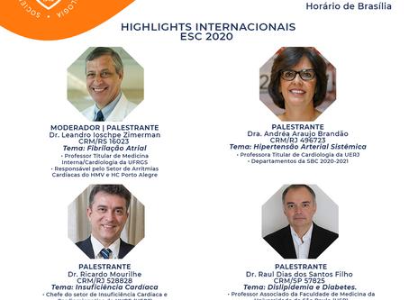 Highlights Internacionais ESC 2020
