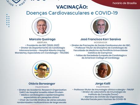 Vacinação: Doenças Cardiovasculares e COVID-19