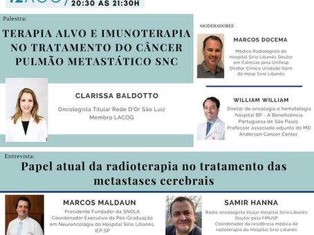 Terapia alvo e imunoterapia no tratamento do câncer pulmão metástico SNC