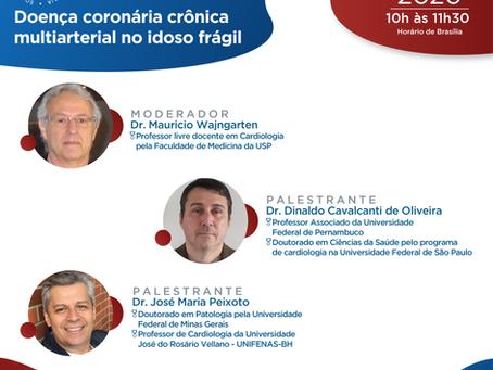 Doença coronária crônica multiarterial no idoso frágil