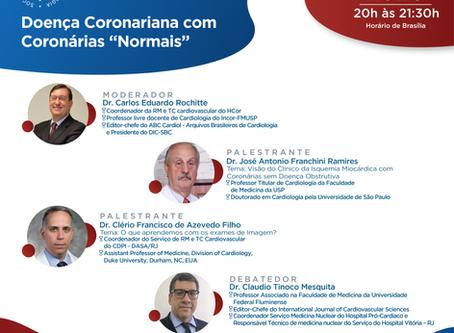 """Doença Coronariana com Coronárias """"Normais"""""""