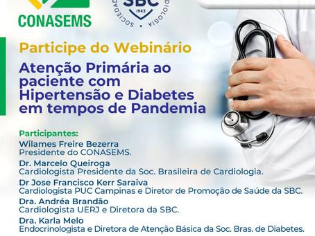 Atenção Primária ao paciente com Hipertensão e Diabetes em tempos de Pandemia