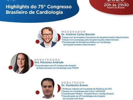 Highlights do 75°Congresso Brasileiro de Cardiologia