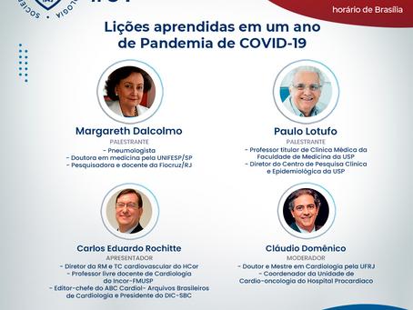 Lições aprendidas em um ano de Pandemia de COVID-19