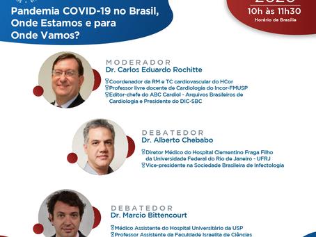 Pandemia COVID-19 no Brasil, onde estamos e para onde vamos?