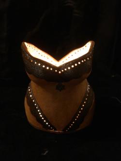 Lampe buste