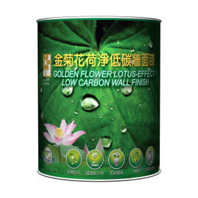 Golden Flower Lotus-Effect Low Carbon Wall Finish GFA