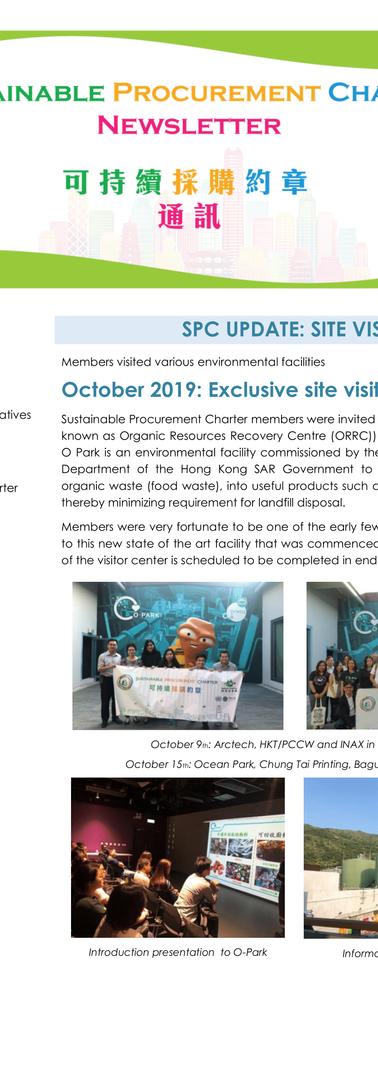 SPC Newsletter - Issue 3 - Nov 2019_P1-1