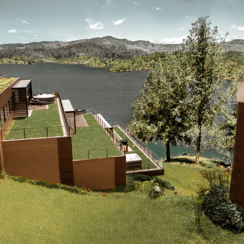 View_from_apartments_luxé_project_GUATAP