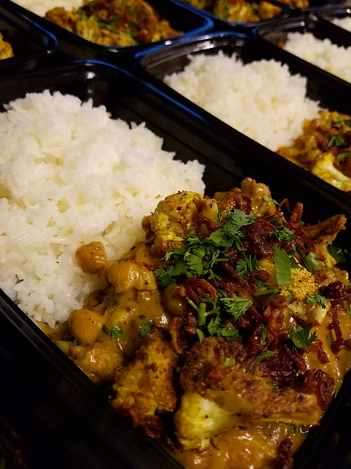 Vadouvan - Roasted Cauliflower & Chickpea Curry