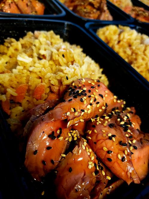 Beef Teriyaki with Fried Rice