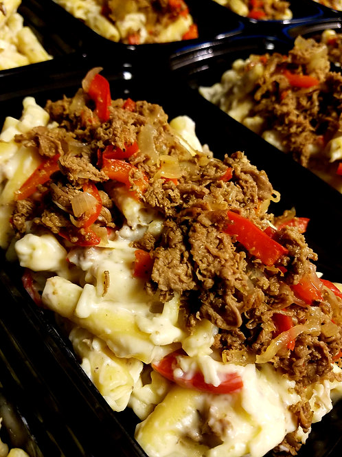 Large Philly Cheese Steak Mac
