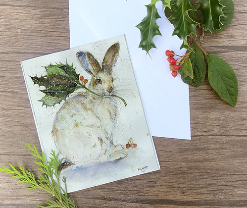 Holet - set of four greetings cards