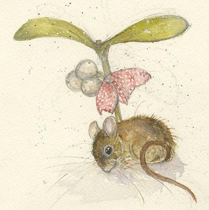 Ivy - Mistletoe Mouse