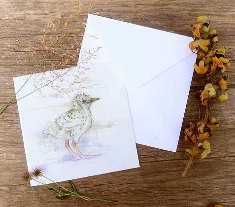 Laurie greetings card pack of 4