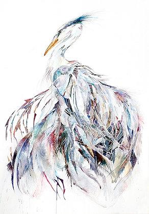 Isis Heron - Original 66x94cm