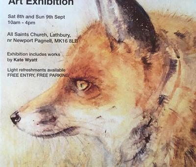 Kate Wyatt - Art Exhibition Sept 2018