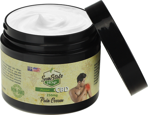 Pain Relief Cream 250mg (4oz)