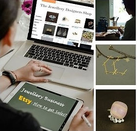 an online course about Etsy to help jewellers get or improve online sales