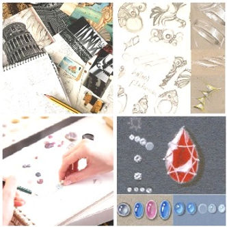 Jewellery Design Foundation Course at Th