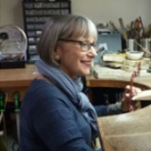 Jane M_Jeweller and Enameller in her wor