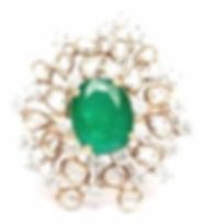 Diamond Ring by Zoe Phillips; Jewellery courses; expert tutors, www.bespokejewellerytraining.co.uk