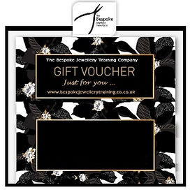 Gift Voucher for Jewellery Makin Experience Days at www.bespokejewellerytraining.co.uk