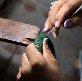 Learn how to Carve and Sculptpt wax or milliput for Jewellery via a Wax Carving course at The Bespoke Jewellery Training Compnay_course _The Bespoke Jewellery Training Co.jpg