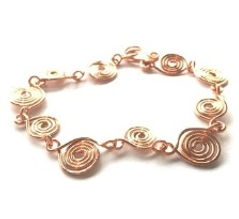 Copper wirework bracelet CM 200.JPG