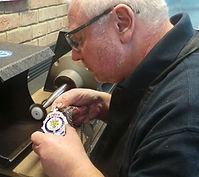 Stephen M Goldsmith| in-house consultant and Master Polisher at www.bespokejewellerytraining.co.uk