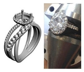 How to design a micro set ring with rhino course
