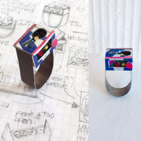 Anxst Ring( Lockdown Jewellery Project 2