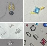 How to design & illustrate jewellery ideas i