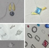 How to design & illustrate jewellery ideas i