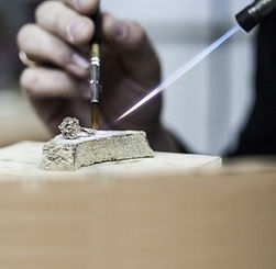 Leran how to solder Jewellery using silver, gold or platinum Jewellery