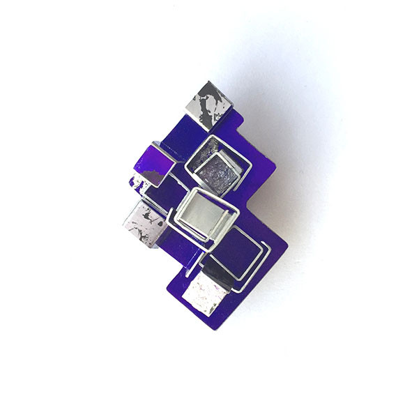 City Brooch by Contemporary Jeweller Dawn Meaden-Johnson | dawnstorm.co.uk