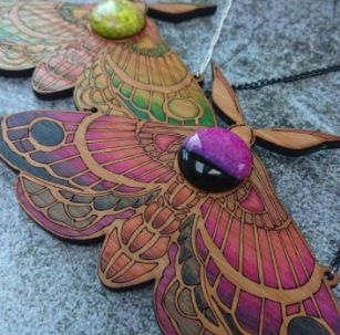 How to laser cut and design plywood and acrylic jewellery in this course