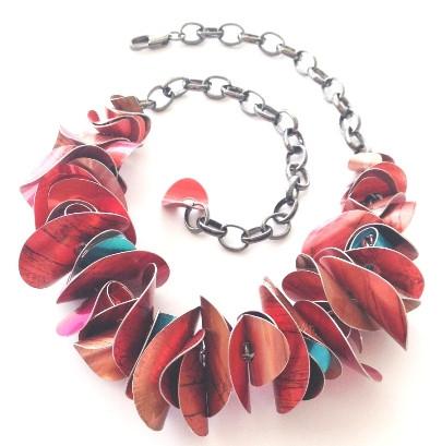 Petal Necklace by Dawn Meaden-Johnson_An
