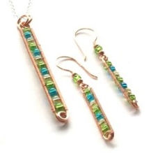 Wire weaving Jewellery course